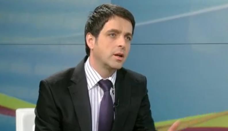 Горан Претски, главен уредник на информативната програма на МТВ. Фото: видео клип скриншот