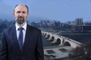 Коце Трајановски, градоначалник на Град Скопје. Фото: skopje.gov.mk