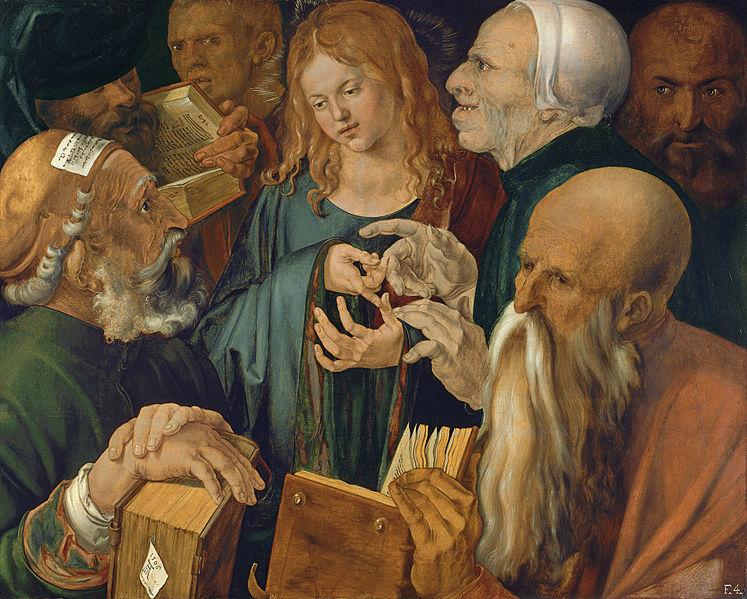 Исис меѓу лекарите. Албрехт Дирер, 1506 година. Фото: Google Art Project