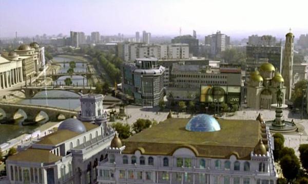 Груевски сакал да си игра и како архитект и како урбанист.
