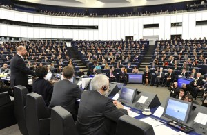 The European Parliament is aware of the obstruction of Janeva's work. Photo credits: EP