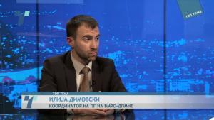 Илија Димовски во Топ Тема, Фото: Скриншот