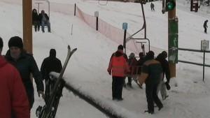 Скијање само на природен снег.  Фото: Скриншот