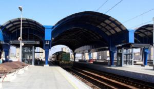 Реконструкцијата на Железничката станица во Скопје ги опфати и шесте перони  Фото: Скриншот