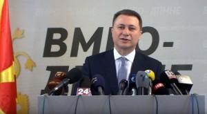 Gruevski: Jemi të pafajshëm. Foto: skrinshot