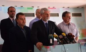 Asnjë nga organizatat që bashkëpunojnë me Fondacionin Shoqëri e hapur, nuk janë paraqitur si organizator të protestave. Foto:Skrinshot