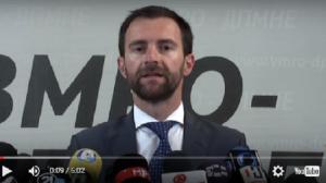 Димовски ги премолчи клучните барања за фер и демократски избори Фото: Скриншот