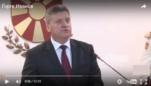 Иванов покажа милост за нарачателите на изборно насилство Фото: Скриншот