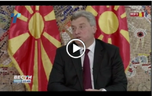 Ivanov used inimical rhetoric towards the international community in the interview. Photo: Screen shot