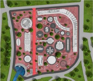 Изградбата на новиот луна парк допрва треба да почне  Фото: Скриншот