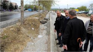 """Пробивањето на  булеварот """"Партизански одреди""""  почна со задоцнување од две години   Фото: Скриншот"""