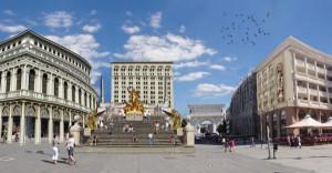 "Alek ""Teranova"" was daunted about the Spanish Steps in Skopje"