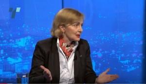Лилјана Поповска - претседателка на ДОМ. Фото: скриншот