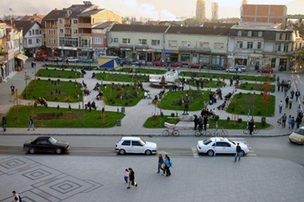 """""""Politika e kuadrove"""" të VMRO-DPMNE-së në Gostivar. Foto: Wikipedia"""