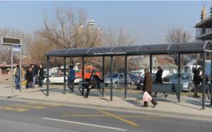Изградбата на модерните автобуски стојалишта се пролонгира речиси две години   Фото: Принтскрин