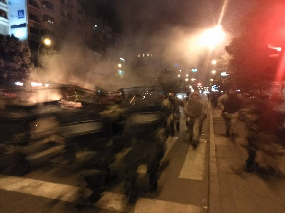 5 May 2015. Police's offensive. Photo: Truthmeter