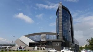 """На 27 август 2014 официјално беше отворен мултифункционалениот спортски комплекс """"Јане Сандански"""".  Фото: Принтскрин"""