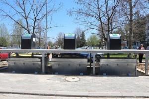 Подземни контејнери Фото: Принтскрин  Општина Кисела Вода