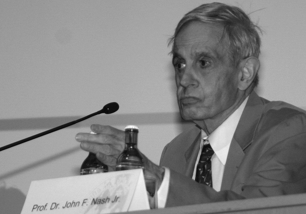 Нобеловецот, професор д-р Џон Неш, креаторот на теоријата на игрите. Фото: Википедија