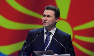 Sipas Nikolla Gruevskit opozita është burimi kryesorë i pengesave në proceset ekonomike të shtetit dhe gjenerator i krizës. Foto: printscreen