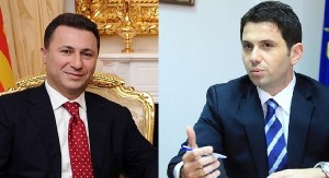 Both Mile and Maja were annoying Gruevski. Photomontage: Prizma