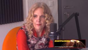 Tanja Karakamisheva – Jovanovska. The spins do not help in justifying the pardoning. Photo: Screen shot