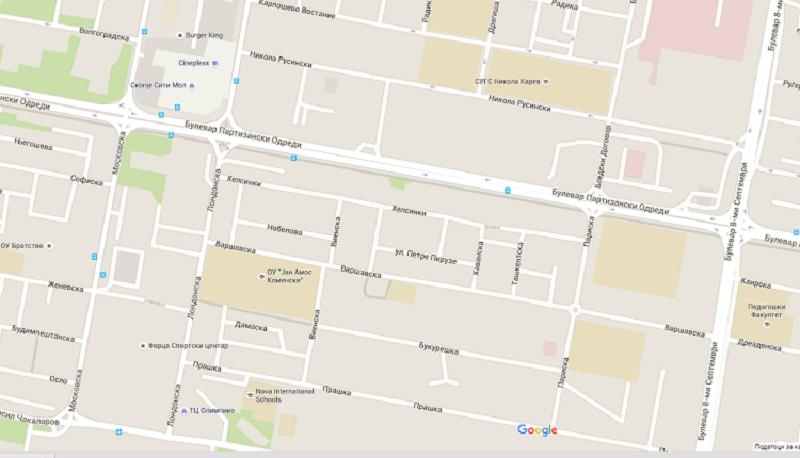 Трајановски допрва планира да почне  изградба на фекална канализација на Партизанска, на потегот од булеварот 8.Септември до улицата Московска Фото: Принтскрин