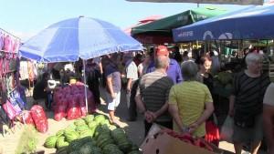 Доцни изградбата на градскиот пазар во Берово, Фото: Принтскрин