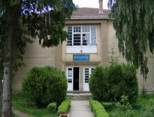 """SHF """"Mite Bogoevski""""ka sallë në ndërtesën e shkollës, salla e premtuar nga Strezovski end pret. Foto: SHF """"Mite Bogoevski"""" - Prespë"""