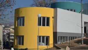На местото на старото летно кино, нов Мултимедијален центар. Фото: Општина Штип