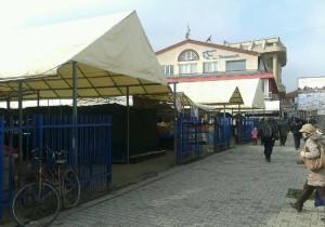 """Tregu i qytetit në Ohër. Foto: Printskrin NP """"tregu i qytetit"""" Ohër"""