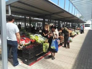 """Покриен градски пазар во Штип Фото: Принтскрин , ЈП """" Исар"""""""