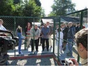 Проектот за изградба на спортско-рекреативен центар на игралиштето Славија во Пржино, остана на хартија Фото: Принтскрин