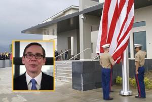 Закани врз Американската амбасада и амбасадорот Џес Бејли. Фото: Википедија/ЈуТјуб