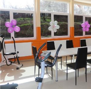 Центарот за лица со пречки во развојот е отворен во март 2015 година Фото: Веб-страница на Општина Кисела Вода