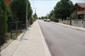 Девет километри нови тротоари во Лисиче Фото: Птринтскрин , Општина Аеродром
