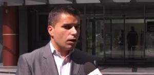 Ljubço Nikollovski, zëvendës ministrë nga radhët e LSDM-së. Foto: screenshot.