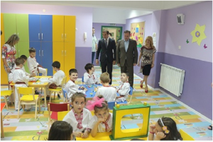 Новата градинка во Пинтија е отворена во јуни 2016 година  Фото: Принтскрин Општина Кисела Вода