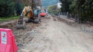 Реконструкцијата на улицата Народни херои се развлече