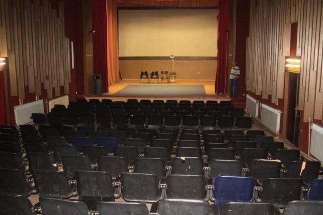 Внатрешната рекоснтрукција на киносалата треба да завррши до крајот на 2016 година Фото: Принтскрин