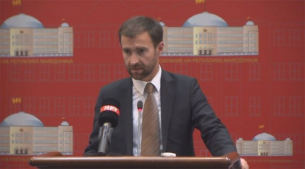 Dimovski Ilija. Foto: ueb faqja e VMRO DPMNE-së.
