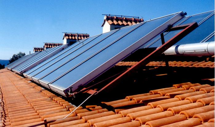 Kompensimi për instalimin e kolektorëve diellorë nëpër amvisëri  është për 30 përqind nga i gjithë investimi i përgjithshëm, por nuk është më shumë se 300 euro. Foto: printscreen.