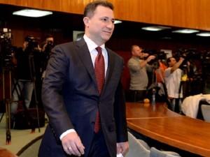 """Që nga fillimi i rastit """"Puç"""", Gruevski nuk u paraqit në seancë. Foto: Meta."""