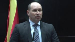 Kiril Minoski në emër të VMRO-DPMNE-së kërkon që LSDM të qëndrojë në opozitë. Foto: VMRO-DPMNE