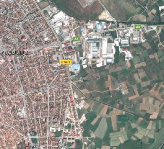 """Rrugët nuk u """"rritën"""" në bulevarde. Foto: Skrinshot nga Google Maps."""