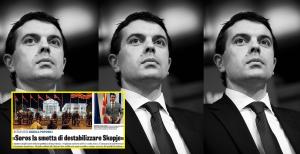 Никола Поповски. Кој може да се занимава со политика? Фото: Friends of Europe/flickr