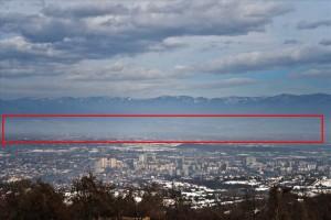 Komuna Karposh me deklarata të pabaza informoji për ndotjen enorme me 05.02.2017. Foto: Marrë nga ueb-faqja e Komunës së Karposhit.