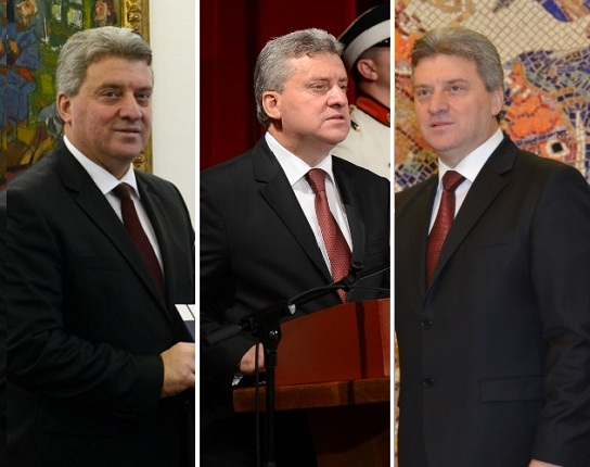 """Gjorge Ivanov, President of the RM: Forced """"problems"""" with the platform. Photo: Meta/Truthmeter"""