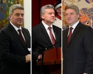 """Gjorgje Ivanov presidenti i RM-së: """"Probleme"""" të tensionuara me platformën.  Foto: Meta/Vërtetmatësi."""
