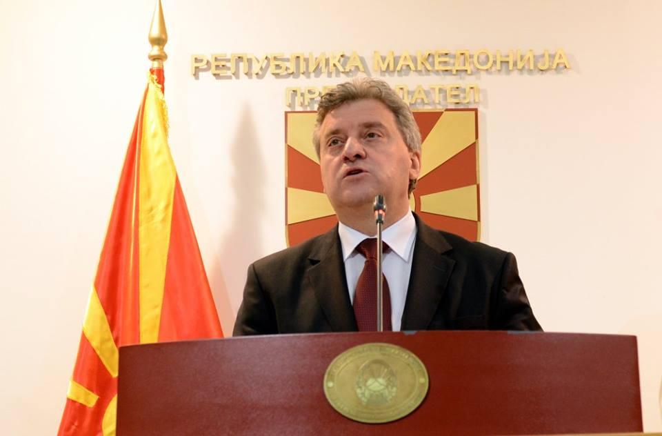 Иванов не дава, без причина. Фото: веб страна на Претседател на РМ